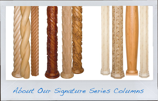 Twist Wood Columns : About signature wood columns hardwoodcolumns